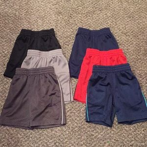 Lot of (6) Jumping Beans Boys Gym Shorts